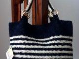 Cartera tejida a crochet con hilo | Feria Central