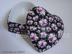 Porta-jóias  revestido com cerâmica plástica (polymer clay) | by Beatriz Cominatto