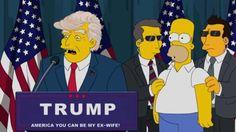 'Os Simpsons' previram a vitória de Trump nos anos 2000