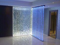 Paneles en acrílico y luces led