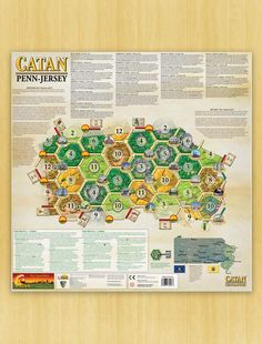 Catan Geographies: U.S.A. - Pennsylvania -  New Jersey
