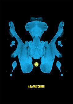 W is for watchmen Art Print