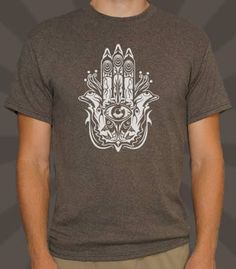 This artsy design is said to provide protection and strength!  - Professionally printed silkscreen - High-quality, 100% cotton tee. - Ships within 2 business days - Designed and printed in the USA