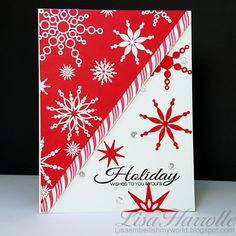 Embellish My World: More Holiday Magic snowflakes and a chance to win the Next Stamp of Approval box!