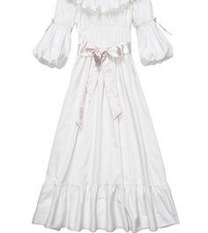 Free Shipping 100% Cotton Princess Nightdress Royal Pajamas Long White Nightgown Women's Sleepwear Ladies pijamas femininos-in Nightgowns & Sleepshirts from Women's Clothing & Accessories on Aliexpress.com   Alibaba Group