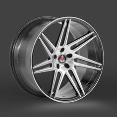 """Axe Ex31 Silver/Polished 20"""" - Most 5 stud fitments 9 & 10.5J"""