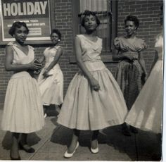 Vintage photos of Black women -