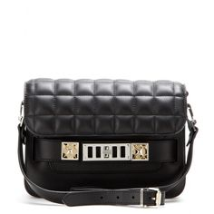 mytheresa.com - PS11 Mini Classic leather shoulder bag - Shoulder bags - Bags - Luxury Fashion for Women / Designer clothing, shoes, bags