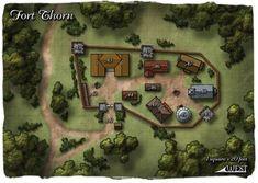 Bildergebnis für d&d village map Fantasy City Map, Fantasy Town, Fantasy Castle, Fantasy Places, Fantasy Village, Plan Ville, West Map, Pathfinder Maps, Village Map