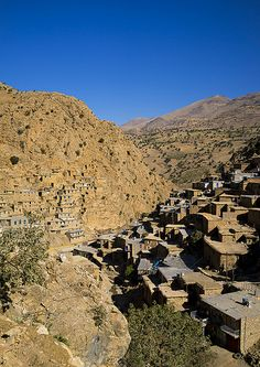Old Kurdish Village Of Palangan, Iran