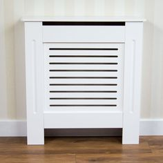 Shop for Vida Designs Milton Small White Radiator Cover at wilko - where we offer a range of home and leisure goods at great prices. White Radiator Covers, Wood Grill, Vida Design, Small Cabinet, Grill Design, Mdf Wood, Design Crafts, Painting On Wood