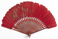Brisé Fan (possibly USA), late 19th–early 20th century