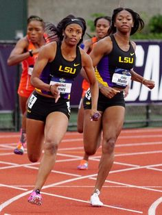 LSU womens track and field team makes strides at national meet Flexibility Workout, Strength Workout, Track Pictures, Track Workout, Boxing Workout, Long Jump, Beautiful Athletes, Club Face, Female Athletes