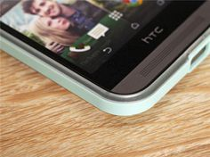 HTC One M8 SPG Handyhülle aus Silikon und mit Bumper aus Kunststoff - spitzekarte.com