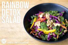 GET ZOMT!: BOX FRESH RECIPE: RAINBOW #Detox   SALAD
