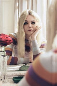 Elle Fanning in Vogue