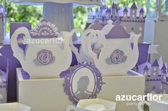 Sofia the first party ideas. X
