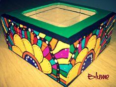 Caja de té x 6 divisiones