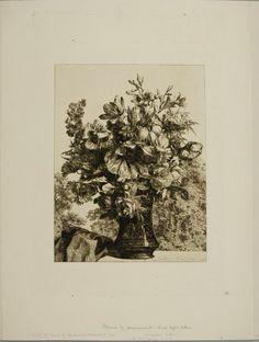 Jules Ferdinand Jacquemart, Bouquet in a Vase, Harvard Art Museums/Fogg Museum. Harvard Art Museum, Ferdinand, Museums, Bouquet, Vase, Collections, Spring, Painting, Bouquet Of Flowers