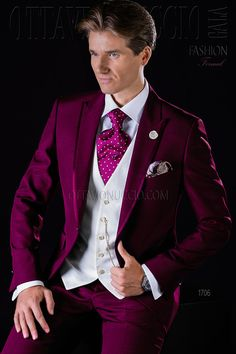 Burgundy peak lapel groom suit  wedding  tuxedo  luxury  menswear  menstyle    73b8fc6e386
