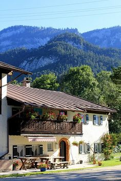 At home in the Alps - Bavaria.  Repinned by www.mygrowingtraditions.com......missing Germany lately