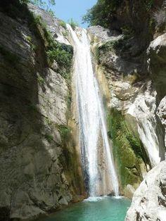 Nidri Waterfalls, Lefkada, Greece