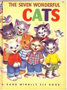 #8411  The Seven Wonderful Cats, 1956