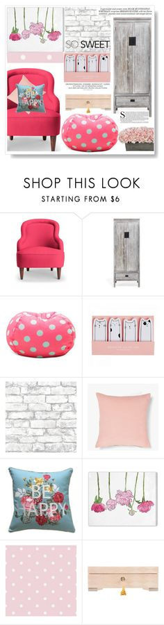 """""""Home , sweet home ."""" by gul07 ❤ liked on Polyvore featuring interior, interiors, interior design, home, home decor, interior decorating, Kate Spade, Brewster Home Fashions, Whiteley and Oliver Gal Artist Co."""