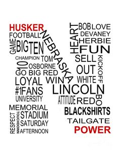 Husker Power Photograph by Jennifer Mecca