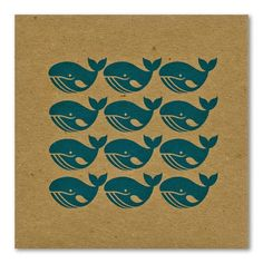Whale_Pattern_Repeat_Card_flickr_roundup Love th repeat pattern - use any motif