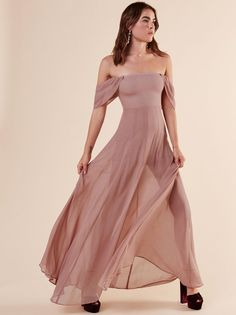 Annora dress blush 1 clp Blush Bridesmaid Dresses Long 2014837f6e84
