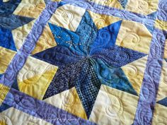 how to quilt a star