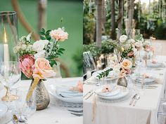 Starry Dreams Styled Shoot | Southern California Wedding Ideas and Inspiration California Wedding, Southern California, Table Settings, Romantic, Wedding Ideas, Dreams, Table Decorations, Inspiration, Style