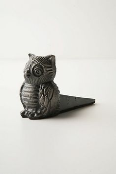 anthropologie owl door stop Upcycled Crafts, Owl Doorstop, Owl Always Love You, Little Owl, Door Stopper, Anthropologie, Owl House, Cute Owl, Door Knockers