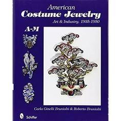 American Costume Jewelry: Art & Industry, A-M Art Industry, Jewelry Art, Costume Jewelry, Brooch, Costumes, American, Jewerly, Amazon, Gift