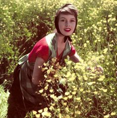 Brigitte Bardot photographed by Walter Carone, 1952.