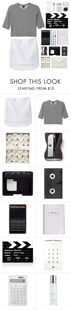 """♬ w h e r e ♬"" by beyond-my-thoughts ❤ liked on Polyvore featuring 3.1 Phillip Lim, Monki, Monkey Business, NARS Cosmetics, Luckies, Charlotte Olympia, Muji, Samsung, Kerstin Florian and simple_sets_by_claris"