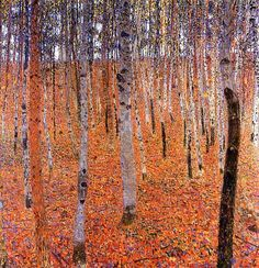 Gustav Klimt - Birch Forest I, 1902