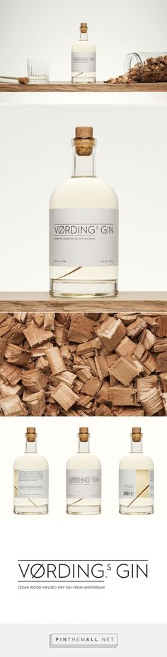 Vørding's Gin - Packaging of the World - Creative Package Design Gallery - http://www.packagingoftheworld.com/2016/03/vrdings-gin.html