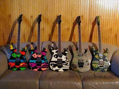 Ibanez John Petrucci- Owned the middle one... maybe again someday...
