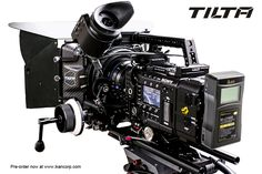 Tilta Sony F55 Rig  with ikan Pro Battery.