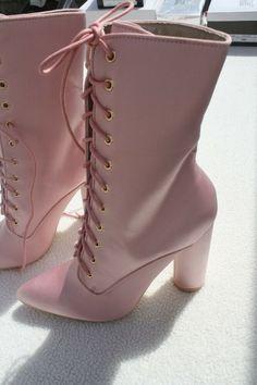 Womens High Heel Pink Satin Pointed Toe Lace Up Calf Boots UK 6 Sergio Todzi NEW #SergioTodzi #HighHeels Pink High Heels, Womens High Heels, Calf Boots, Pink Satin, Calves, Lace Up, Toe, Stuff To Buy, Fashion