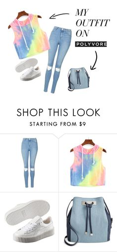 """HII"" by norishaa on Polyvore featuring Topshop, Puma and INC International Concepts"