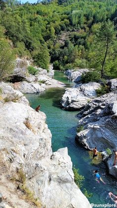 Un coin de Baignade à 20 minutes d'Anduze Road Trip France, France Travel, France Photography, Outdoor Photography, Photography Kids, La Cascade, Beautiful Landscape Photography, Holidays With Kids, Science And Nature