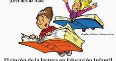 El rincón de la lectura es unaherramientaprimordial en la Educación Infantil.     La literatura infantil en este etapa es una pi... Book People, Too Cool For School, Graphic Organizers, Writing Skills, Conte, Love Reading, Love Book, Book Worms, Book Lovers