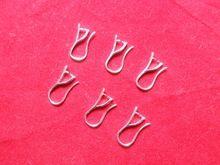 Бесплатная доставка 10 шт. ювелирных изделий 925 посеребренные щепотка залог провода уха крюк серьги 03(China (Mainland))
