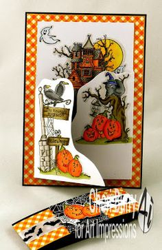 Art Impressions Blog: Halloween Tryfold!