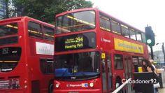 London Bus services at Romford Town Centre Date filmed September 2014 London Bus, East London, Red Bus, London Transport, September 2014, Buses, Transportation, Centre, Videos