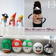 The Scrap Shoppe: 17 {Unusual} Easter Egg Character Ideas