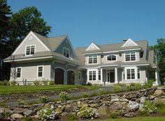 shingle style architecture | Shingle Style Cottage
